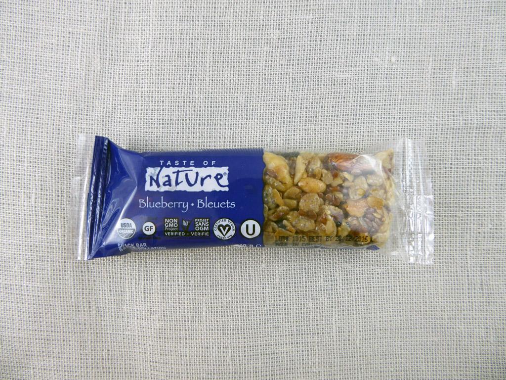 "Batonėlis ""Taste of Nature: Blueberry"""