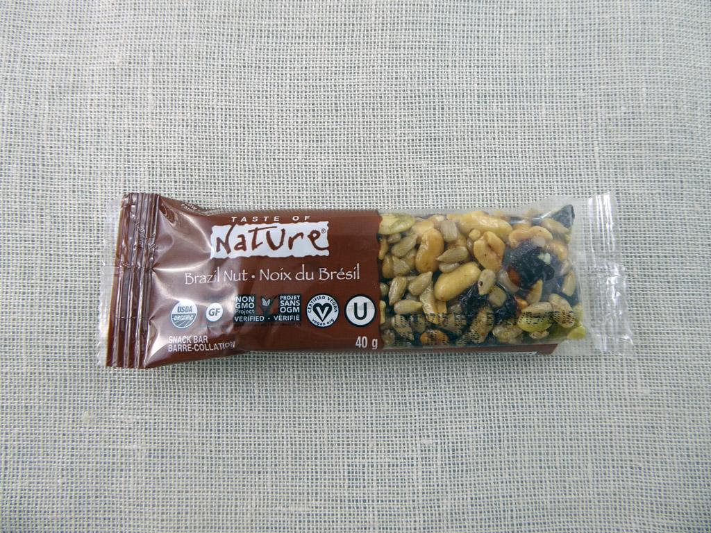 "Batonėlis ""Taste of Nature: Brazil Nut"""