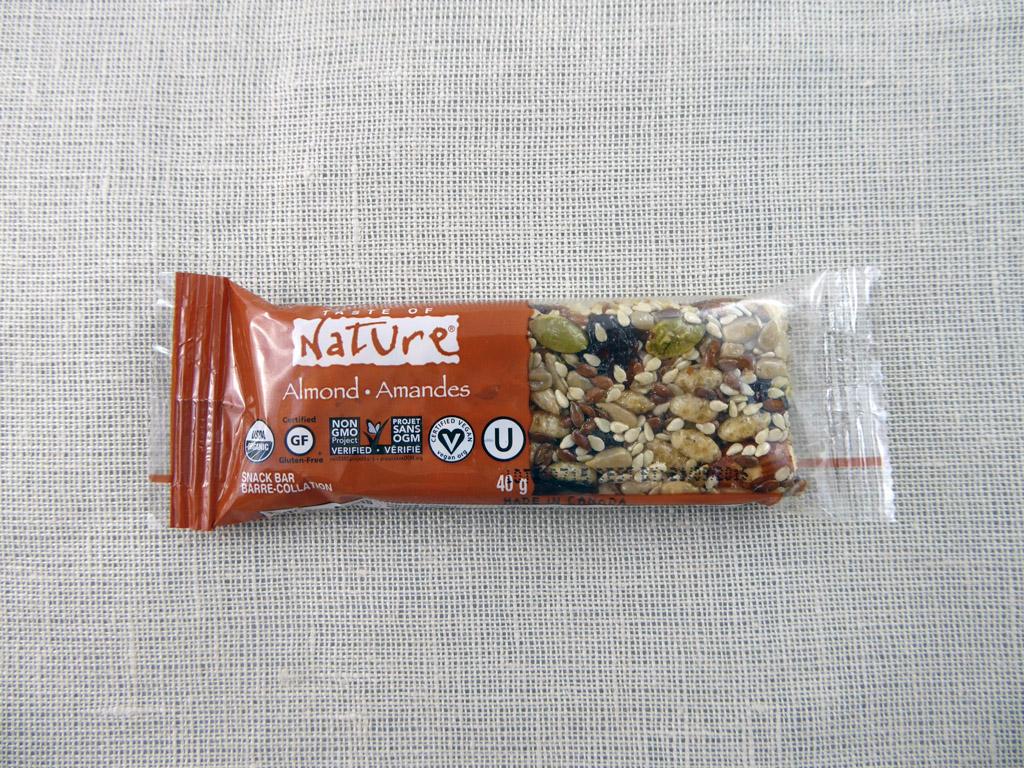 "Batonėlis ""Taste of Nature: Almond"""