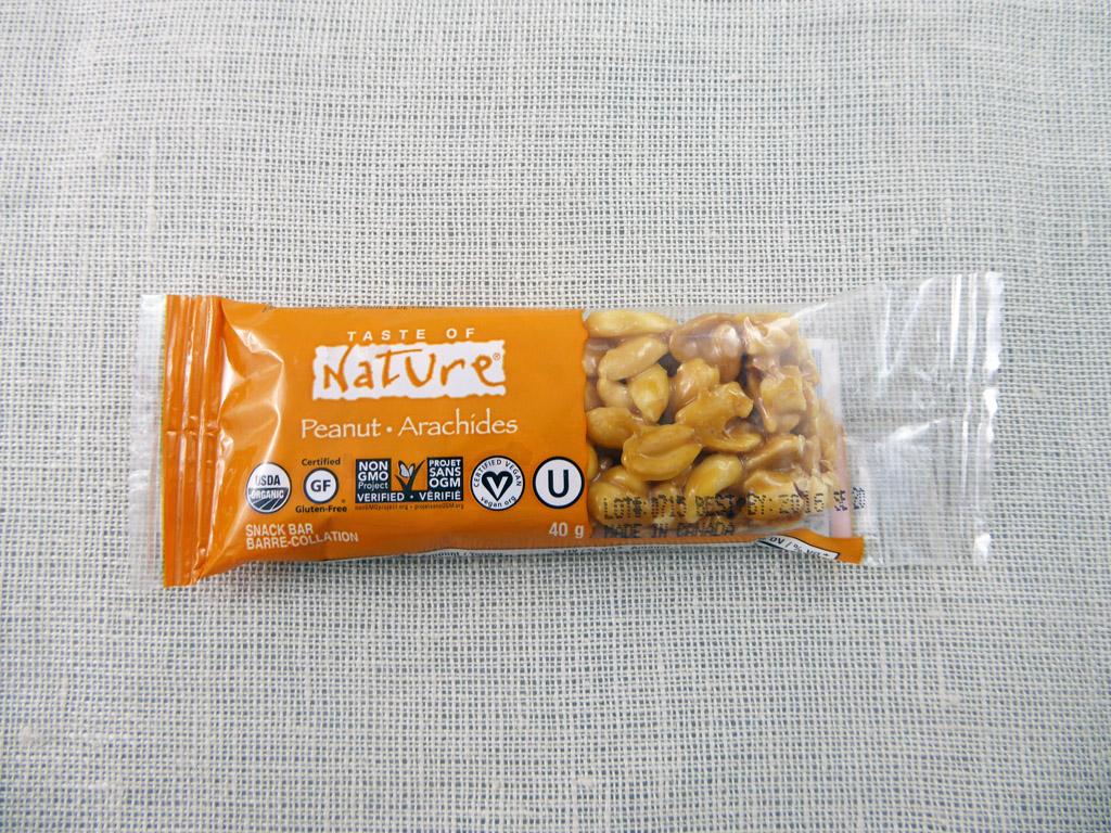 """Batonėlis """"Taste of Nature: Peanut"""""""