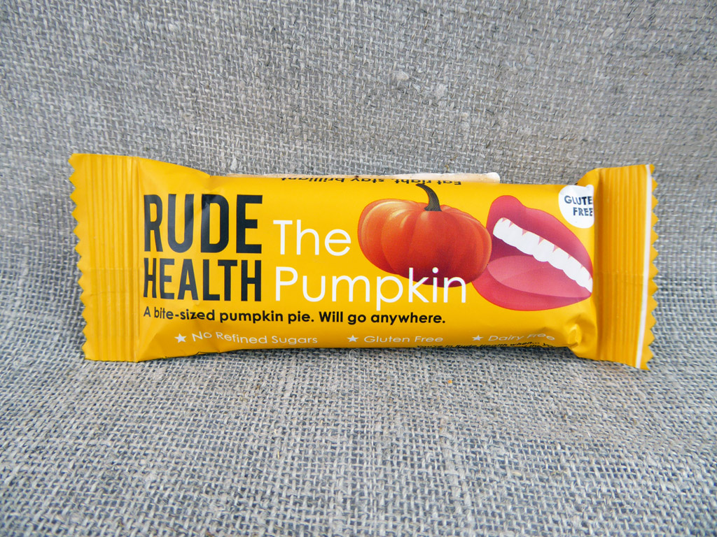 "Batonėlis ""Rude Health: The Pumpkin"" (Moliūgų batonėlis)"