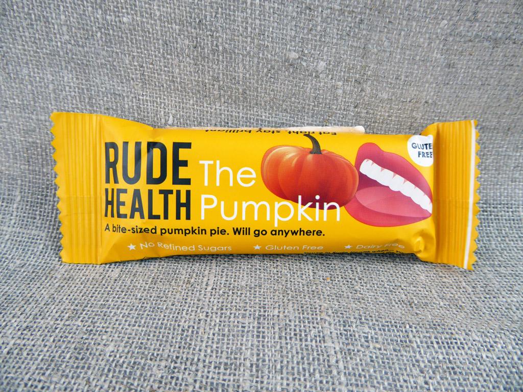 "Batonėlis ""Rude Health: The Pumpkin"" (Moliūgų batonėlis)"