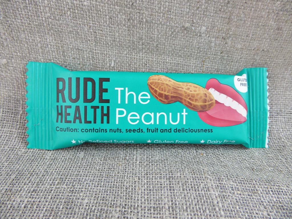 """Batonėlis """"Rude Health: The Peanut"""" (Žemės riešutų batonėlis)"""