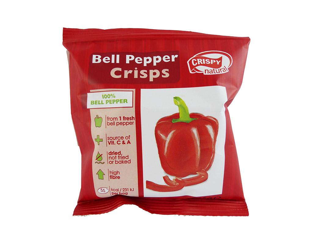 Crispy Natural: Bell Pepper Crisps (Paprikos traškučiai)