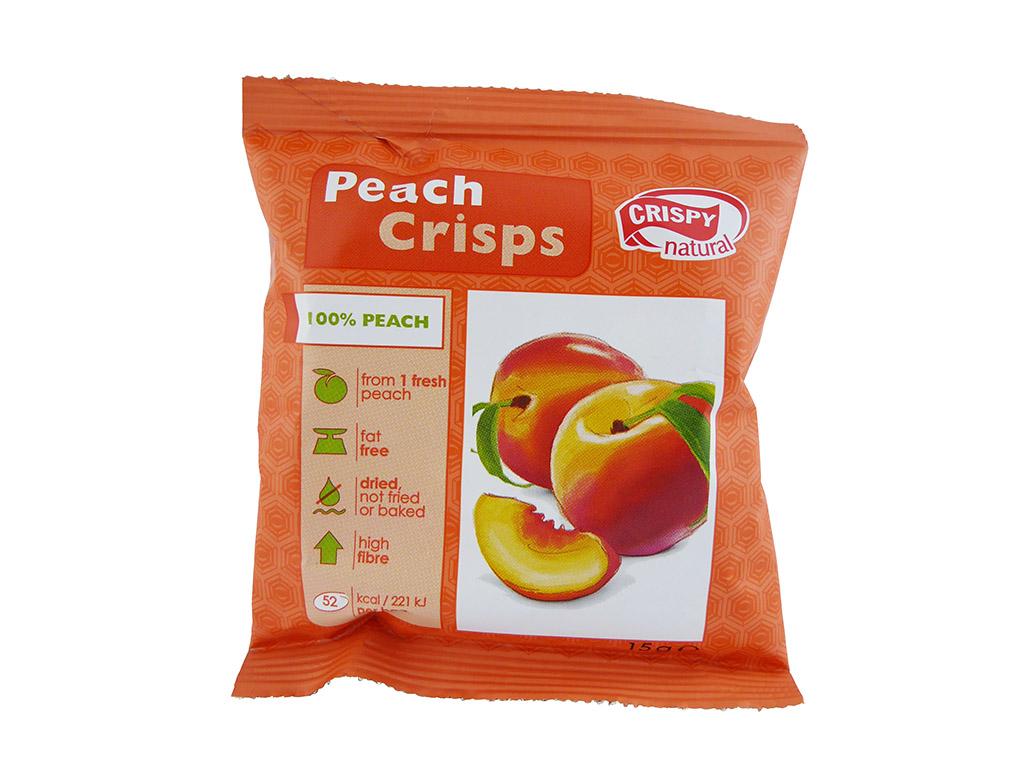 Crispy Natural: Peach Crisps (Persikų traškučiai)