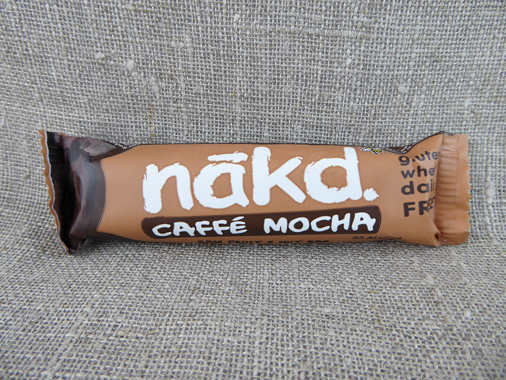 "Batonėlis ""Nakd: Caffè Mocha"" (Kavos skonio batonėlis)"