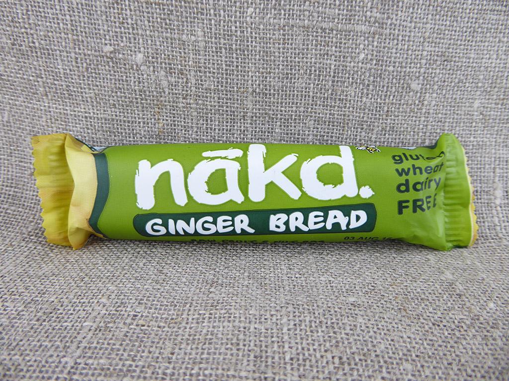 "Batonėlis ""Nakd: Ginger Bread"" (Batonėlis su imbieru)"