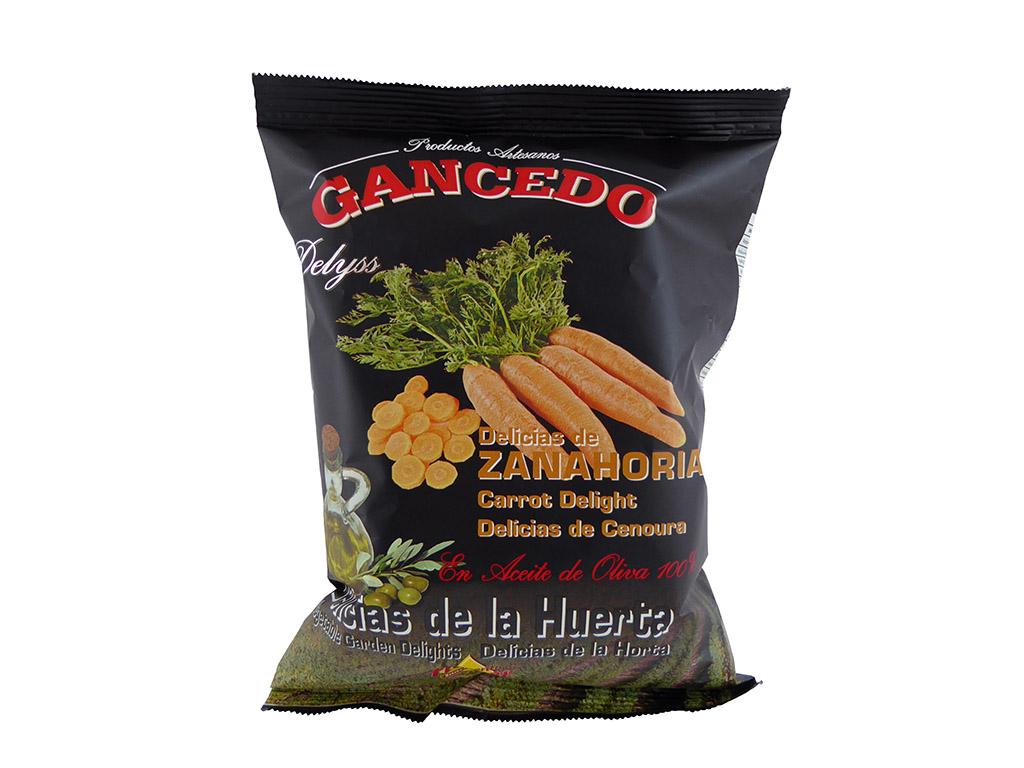 """""""Gancedo"""" morkų traškučiai"""