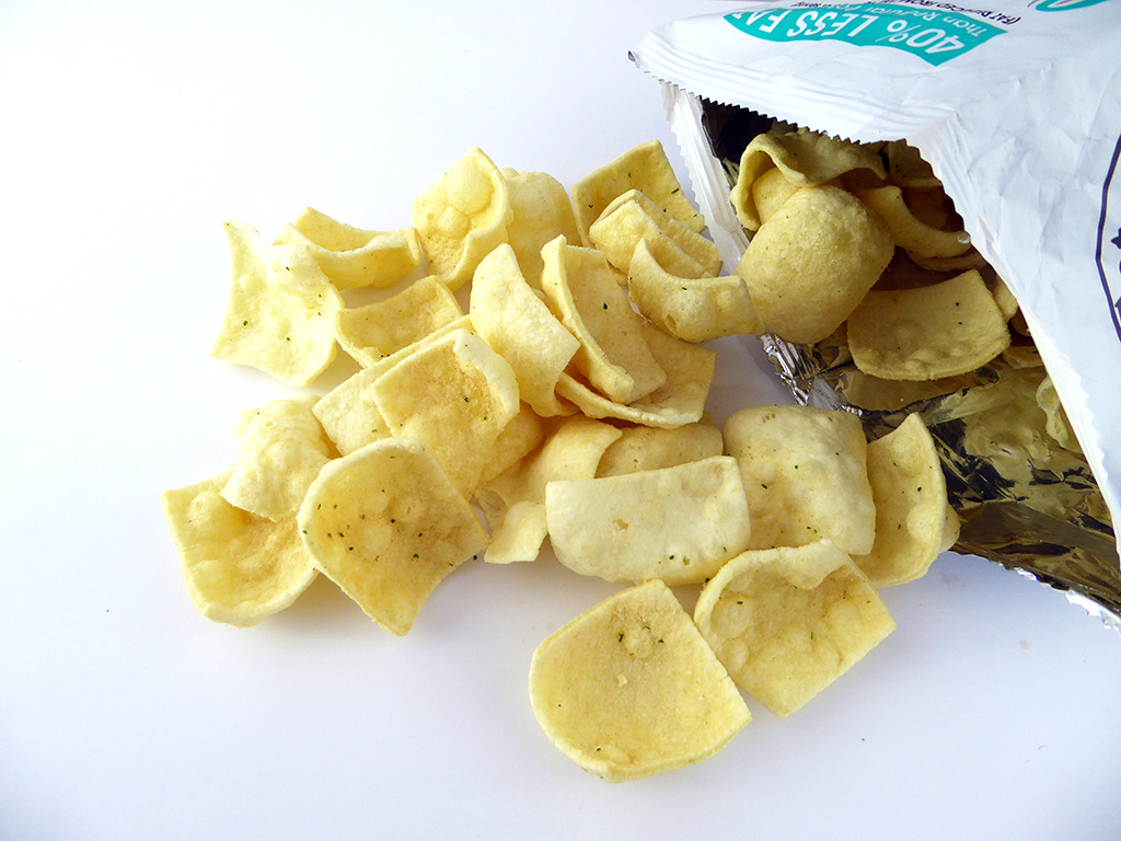 Eat Real: Lentil Chips (Lęšių traškučiai grietinėlės ir krapų skonio)