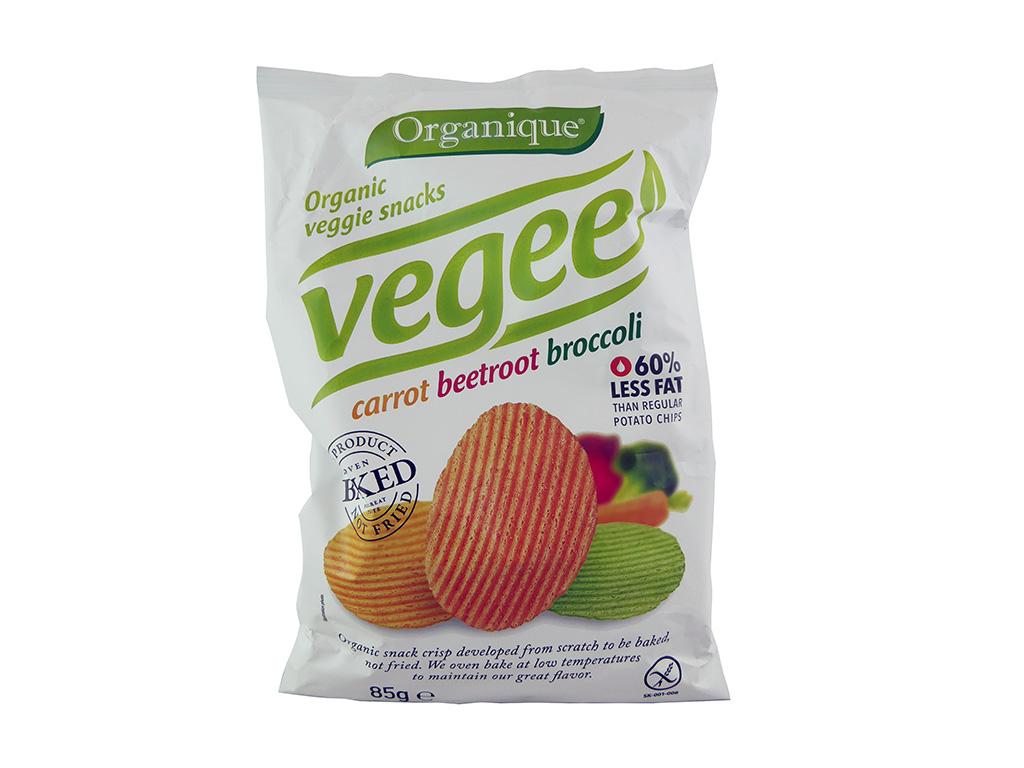 McLLOYD'S: Vegee (Ekologiški daržovių traškučiai)