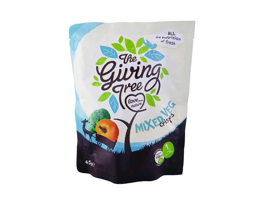 The Giving Tree: Mixed Veg Crisps (moliūgų/brokolių traškučiai)