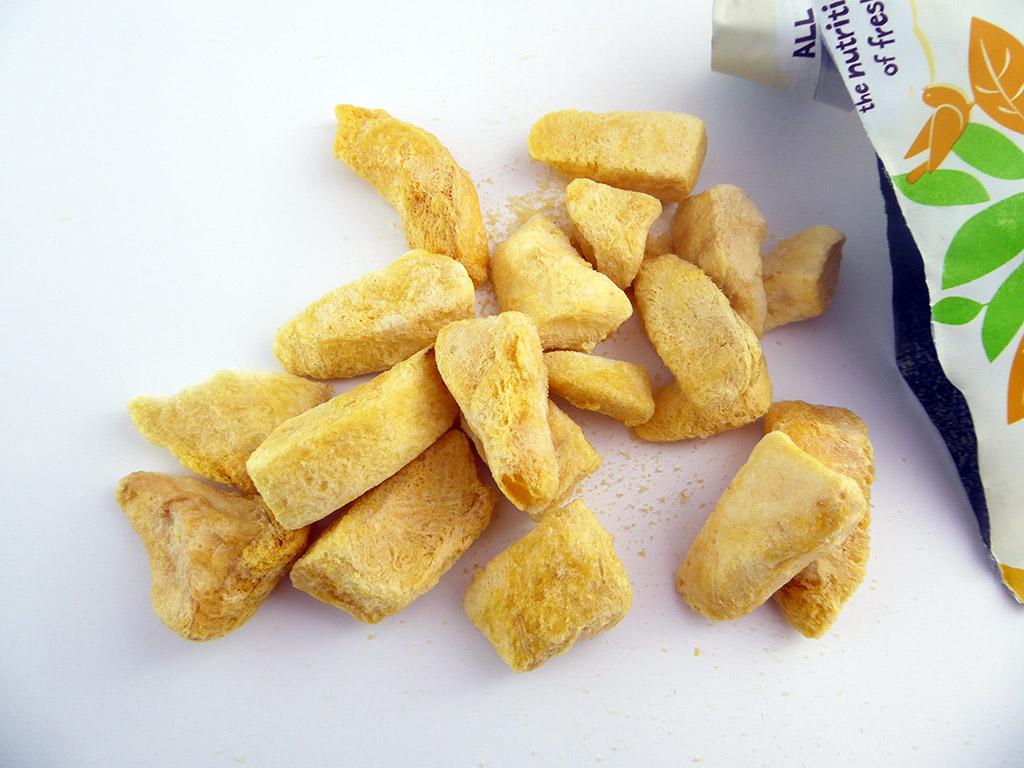 The Giving Tree: Mango Crisps (liofilizuotos mangų skiltelės)