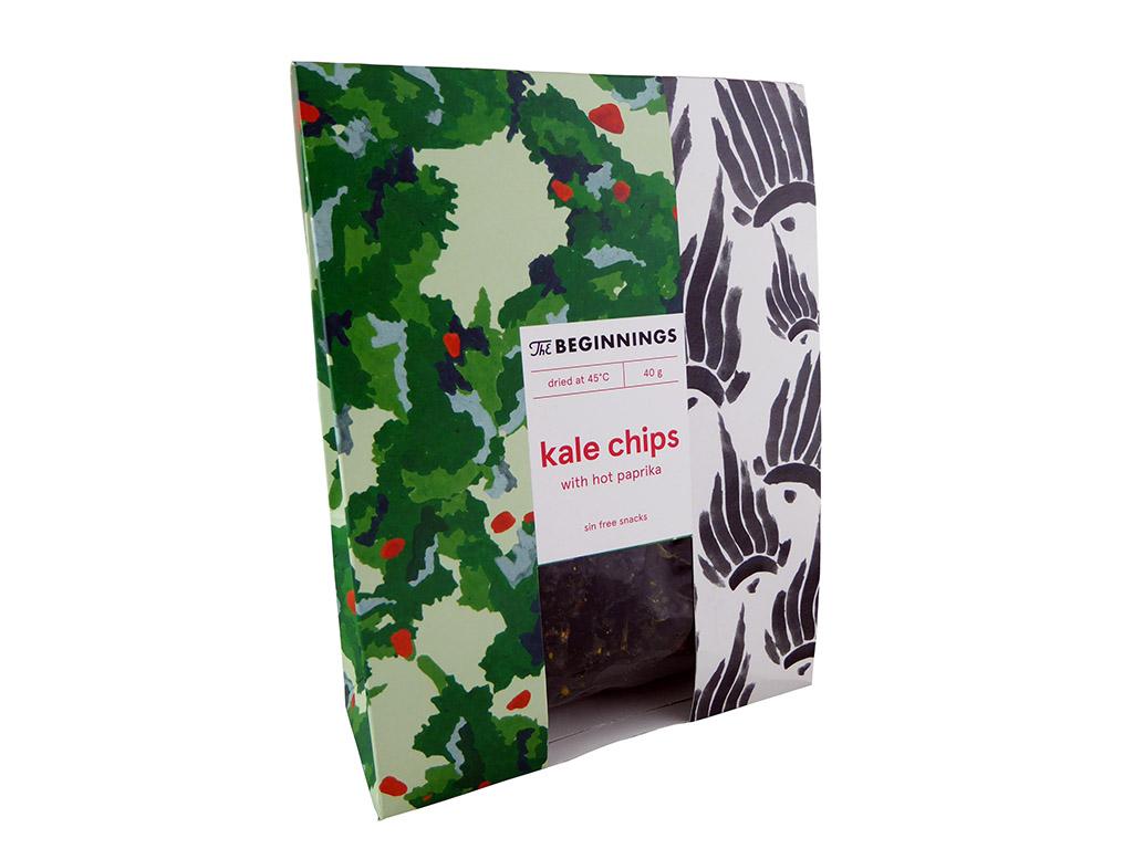 The Beginnings: Kale Chips (Lapinių kopūstų traškučiai)