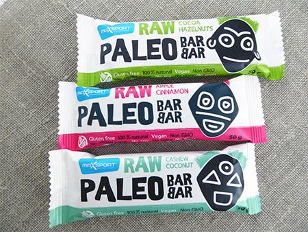 """""""MaxSport Raw Paleo Barbar"""" sveikuoliškų batonėlių apžvalga"""