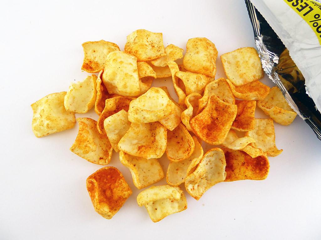 Eat Real: Lentil Chips (Lęšių traškučiai su čili pipirais ir citrina)