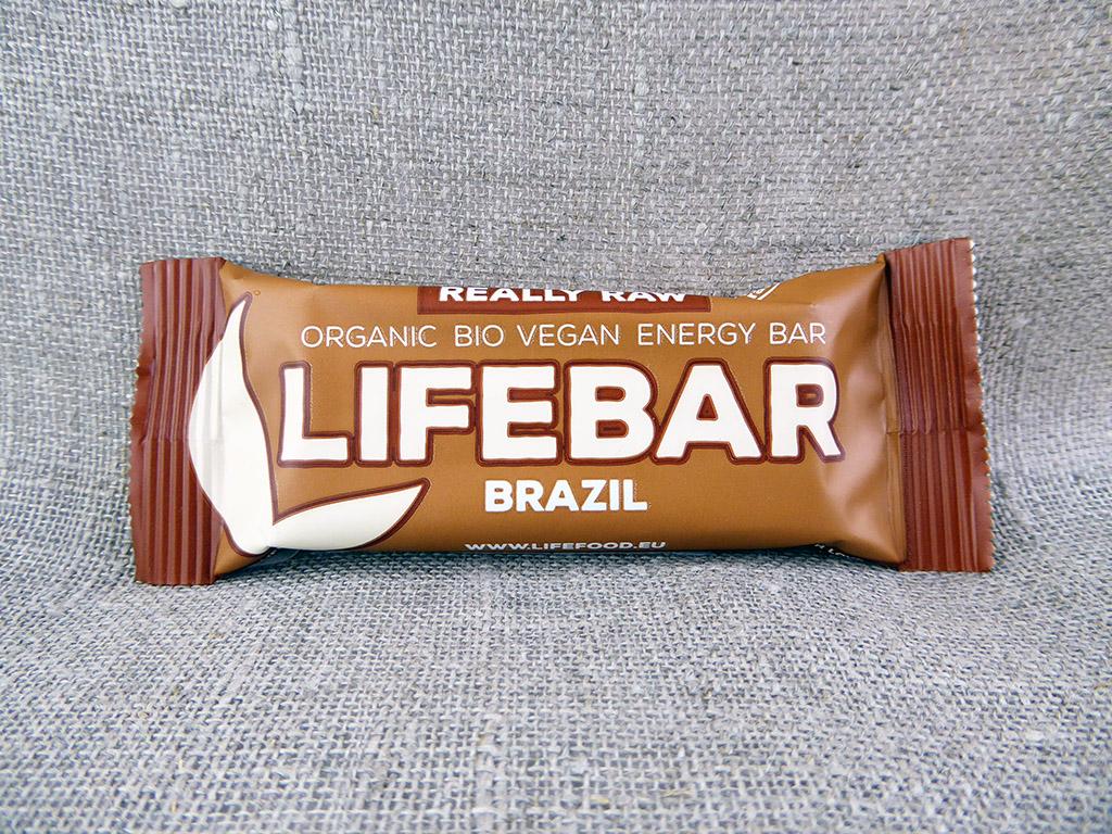 """Batonėlis """"Lifebar: Brazil"""" (Su braziliniais riešutais)"""