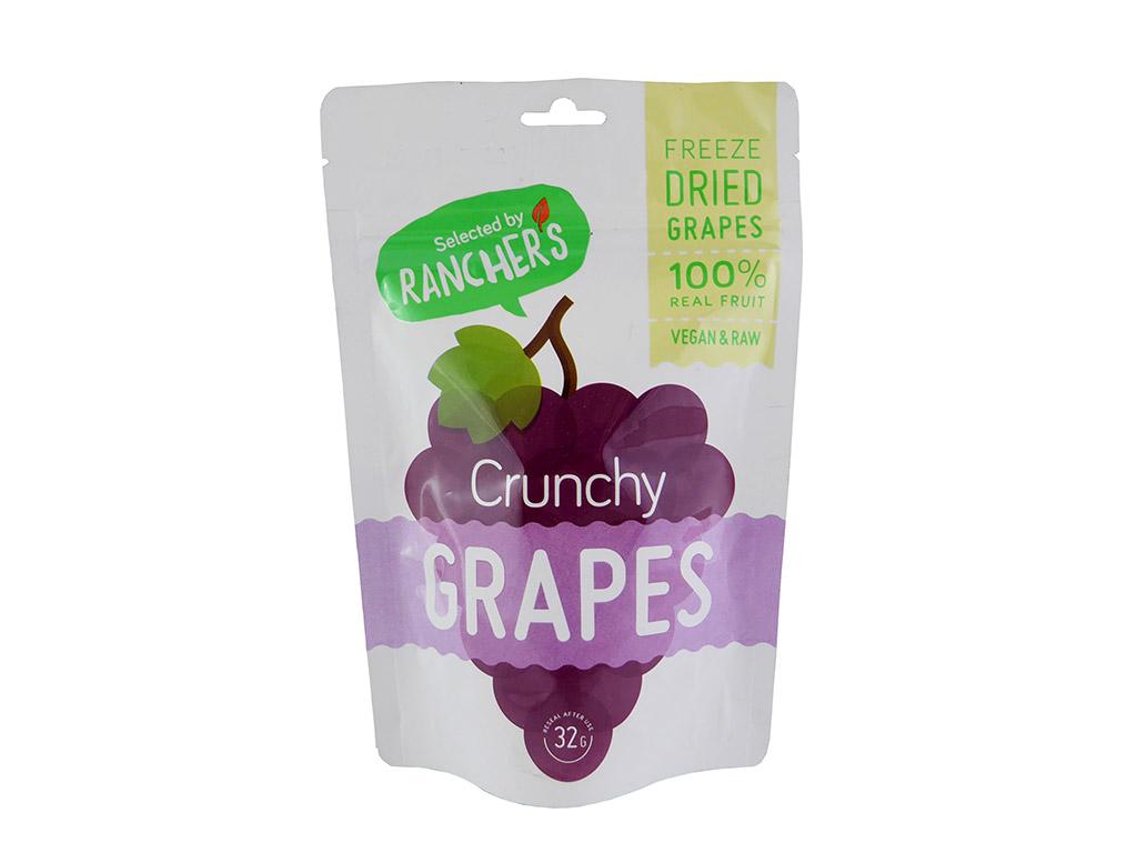 Rancher's: Grapes (vynuogės, išdžiovintos šaldant)