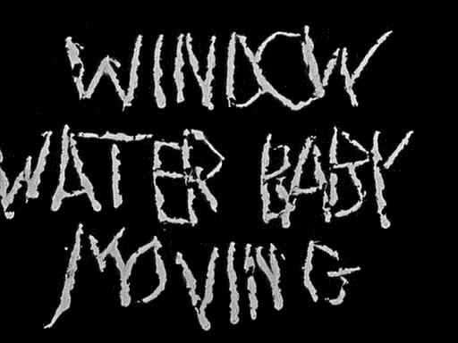 Window Water Baby Moving (1959)